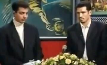 گفتگوی عادل فردوسی پور با علی دایی پس از دربی جنجالی سال ۸۰ / فیلم
