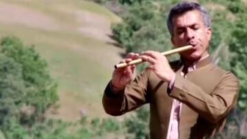 مرگ دردناک نوازنده مشهور کردستان در جاده مریوان / فیلم