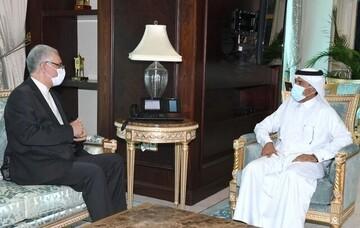 دیدار سفیر ایران با دبیرکل وزارت خارجه قطر