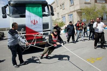 شکستن رکورد قویترین زن جهان، توسط بانوی ایرانی! / فیلم
