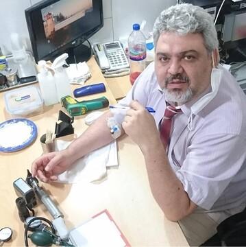 تا پیش از اعلام رسمی ورود کرونا به ایران در هر شیفت ۱۲۰ بیمار کرونایی میدیدم / از دلایل کمتر شدن درصد مرگ و میر مراجعه زودهنگام به پزشک است
