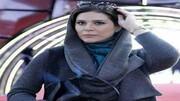 عکس سحر دولتشاهی در تاکسی