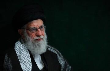 عکسی از رهبر انقلاب با پوششی متفاوت