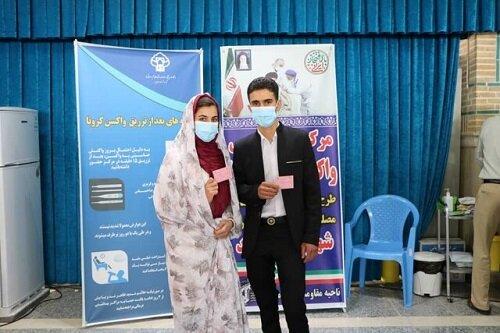 تزریق واکسن کرونا به شرط ازدواج در این استان ایران!