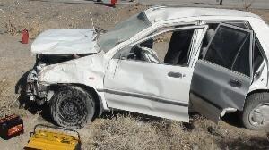 برخورد خونین پراید با گاردریل در سیستان وبلوچستان / ۳ نفر کشته شدند