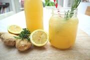 نحوه درست کردن شربت «لیمو زنجبیل»