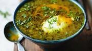 اشکنه گوجه سبز؛ غذای سالم و راحت + طرز تهیه