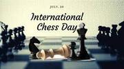 روز جهانی شطرنج  ۲۰ژوئیه