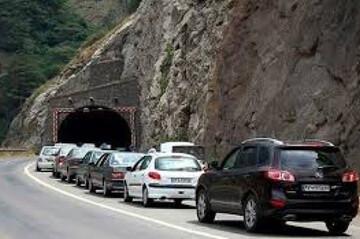 هجوم مسافران به چالوس قبل از شروع ممنوعیتهای تردد / فیلم