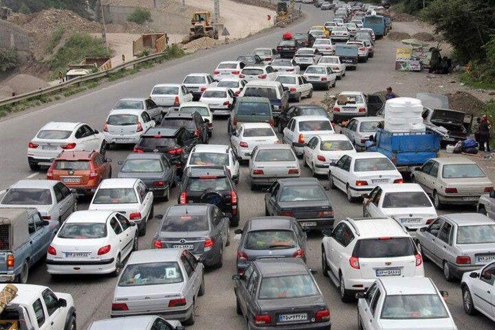 وضعیت ترافیکی جادههای کشور ۲۹ تیر ۱۴۰۰ / کدام جادهها ترافیک سنگین دارند؟
