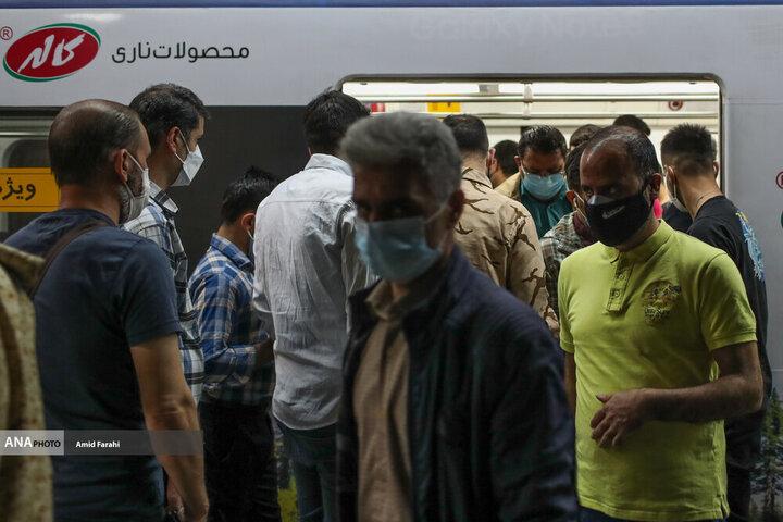علت ازدحام مسافران مترو در تهران چه بود؟