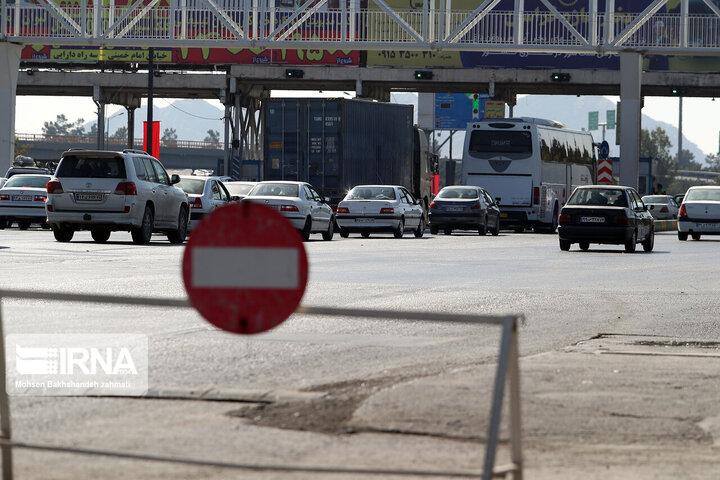ممنوعیت ورود و خروج خودرو به مشهد / این طرح تا روز شنبه دوم مرداد ادامه دارد