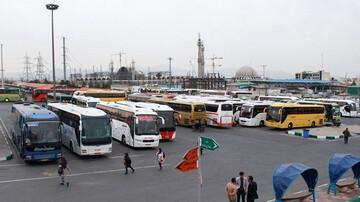 هجوم مسافران به اتوبوسهای بین شهری / مردم محدودیت کرونایی را جدی نمیگیرند