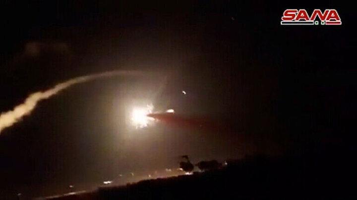 سوریه هفت فروند موشک اسرائیل را سرنگون کرد