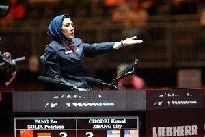 حضور اولین داور زن ایرانی در المپیک توکیو