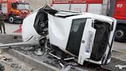 روز پر حادثه در کرمانشاه؛ ۹ نفر کشته و زخمی شدند