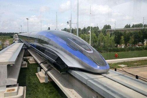 رونمایی از سریعترین قطار جهان در چین / تصاویر