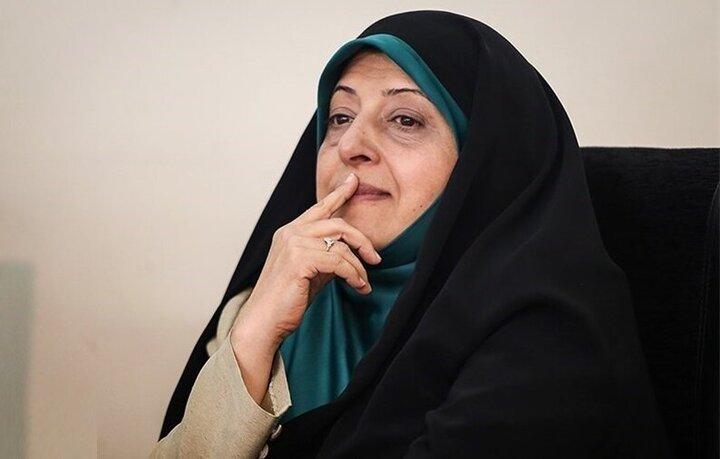 معصومه ابتکار به اعتراض یک زن به بیآبی خوزستان واکنش نشان داد