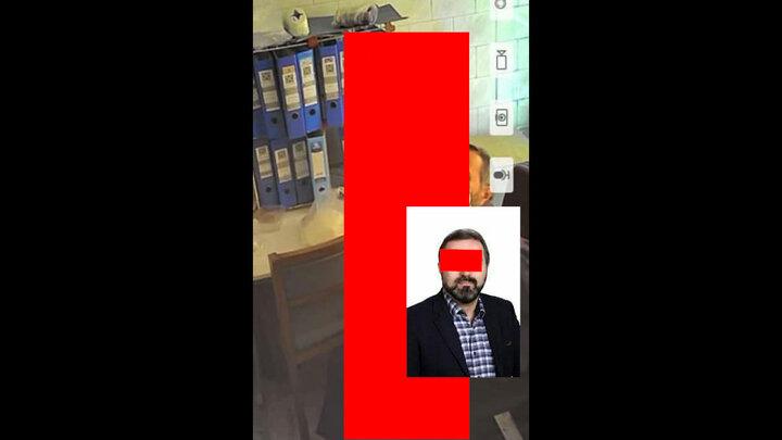 دستگیری سرپرست اداره بیمه سلامت آستارا پس از انتشار فیلم و عکسهای برهنه
