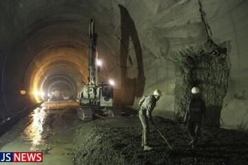سرعت ساخت آزادراه تهران شمال کُند شد