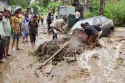 لحظه وقوع رانش زمین وحشتناک در غرب هند؛ ۳۶ کشته و دهها مفقود / فیلم
