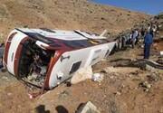 واژگونی مرگبار اتوبوس در کاشان  / جزییات