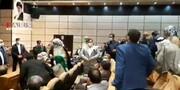 اعتراض شدید بزرگان عرب خوزستان به معاون اول رییس جمهور / فیلم
