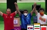 اولین صحبت های جواد فروغی پس از کسب مدال طلای المپیک / فیلم