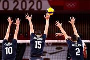 تصاویری از لحظه پیروزی تاریخی والیبال ایران مقابل لهستان / فیلم