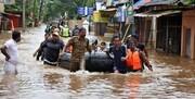 افزایش قربانیان سیل هند به ۱۳۶ نفر