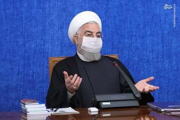 روحانی: امیدواریم خداوند رحمتش را نازل کند | مردم خوزستان برای ما بسیار مهم هستند / فیلم