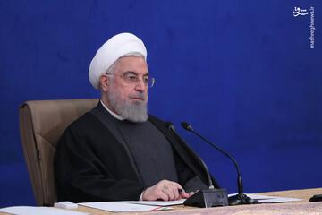 روحانی: کارنامه دولت نسبت به خوزستان قابل قبول است! / فیلم