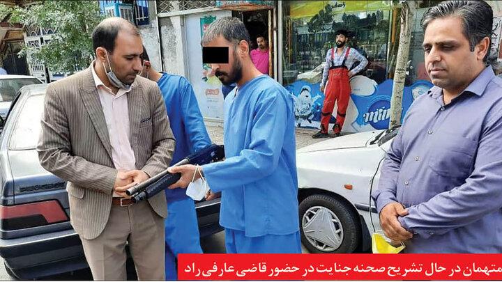 ماجرای شلیک با اسلحه وینچستر به مردم در پارک بسیج مشهد چه بود؟