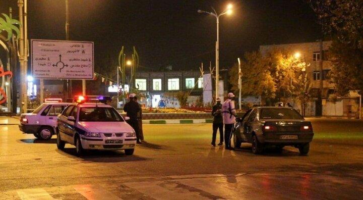 تشدید برخورد با ترددهای شبانه در شهر تهران