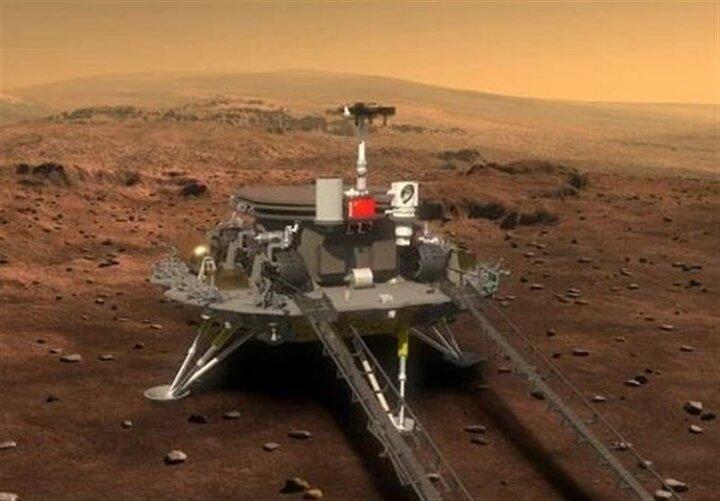 تازهترین تصویر از تپههای شنی کره مریخ
