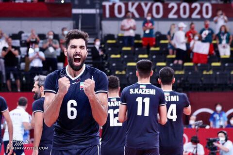 فریادهای معنادار موسوی پس از پیروزی مقابل لهستان / فیلم