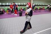 بانوی پرچمدار ایرانی از صعود بازماند