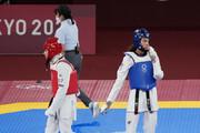 اشکهای کیمیا علیزاده پس از شکست آخر در المپیک توکیو / فیلم