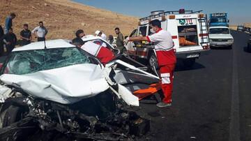 یک تصادف در همدان با ۱۱ کشته و زخمی! / عکس