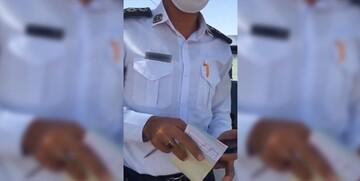 جزئیات ماجرای برخورد نامناسب مامور پلیس راه با یکی از رانندگان در سیستان و بلوچستان
