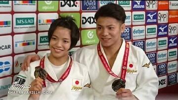 خواهر و برادر ژاپنی در المپیک تاریخساز شدند / عکس