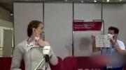 خواستگاری جالب مربی آرژانتینی در جریان رقابت های المپیک توکیو ۲۰۲۰ / فیلم