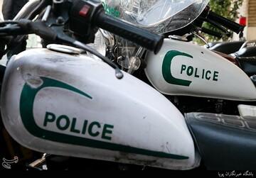 حمله سارقان به مأموران در تهران/  یک مأمور پلیس مجروح شد