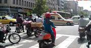 بانوان مجاز به گرفتن گواهینامه موتور سیکلت نیستند