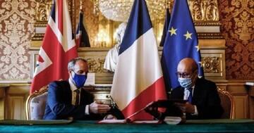 فرانسه و انگلیس توافقنامه امنیتی جدید امضا کردند