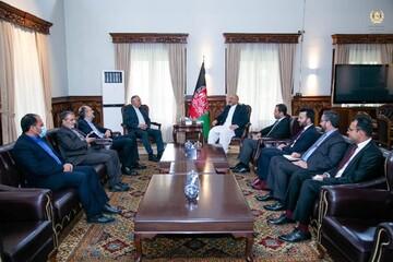 دیدار نماینده ظریف با وزیر خارجه افغانستان