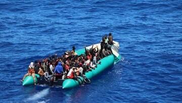 مرگ ۵۷ نفر در پی غرق شدن کشتی مهاجران در سواحل لیبی