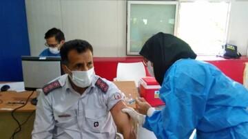 آتشنشانان تهرانی واکسینه میشوند