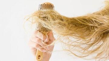 راههای جلوگیری از  وز شدن مو