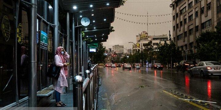 گزارش آب و هوا ۵ مرداد ۱۴۰۰ / بارش باران و کاهش محسوس دما در برخی مناطق کشور
